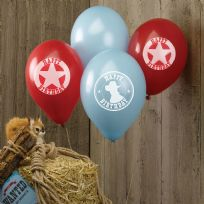 Wild West Cowboys Balloons (8)